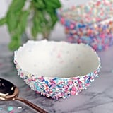 Sprinkles-Covered Chocolate Bowls