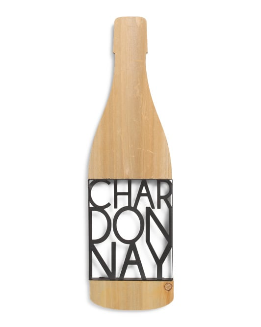 Chardonnay Wall Sign