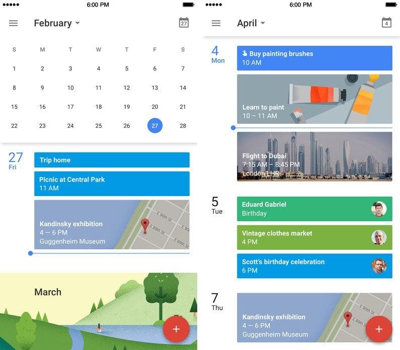 Organization Calendar Google : Best free organization apps popsugar tech
