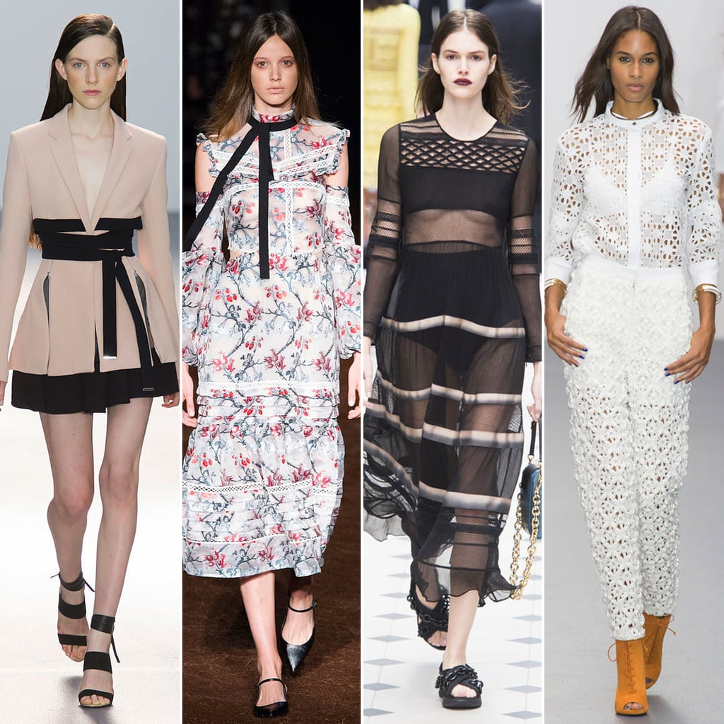 London Fashion Week Spring 2016 Trend Report Popsugar Fashion Uk