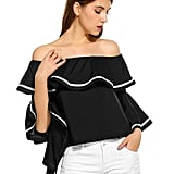 Zeagoo Women Off-the-Shoulder Top