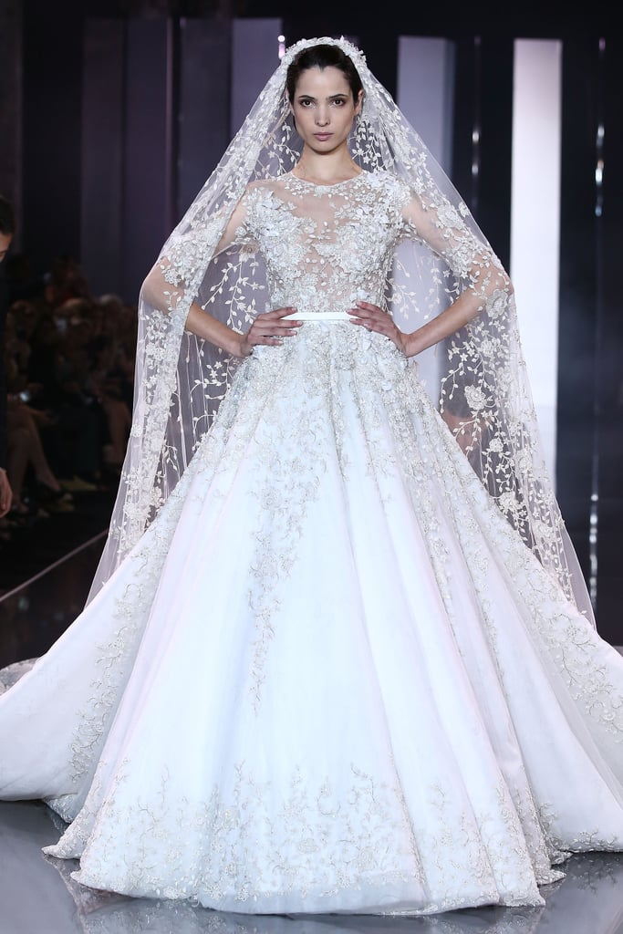 Ralph russo bridal gowns at paris haute couture for Ralph and russo wedding dress