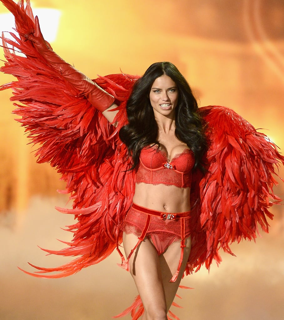 Bilderesultat for victoria secret model adriana lima