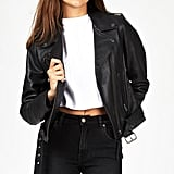 Berlin Leather Jacket, $639.95