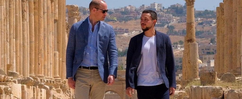 الأمير وليام في الأردن