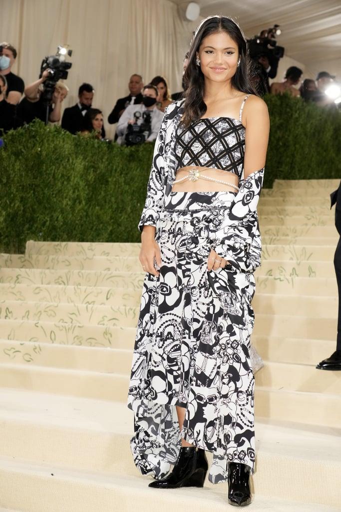Emma Raducanu Wears Chanel to the 2021 Met Gala