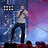 Ricky Martin, Residente, and Bad Bunny at Latin Grammys 2019