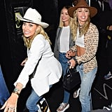 Miley Cyrus and Kaitlynn Carter After the 2019 MTV VMAs