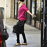 Nicole Richie with a Givenchy bag.
