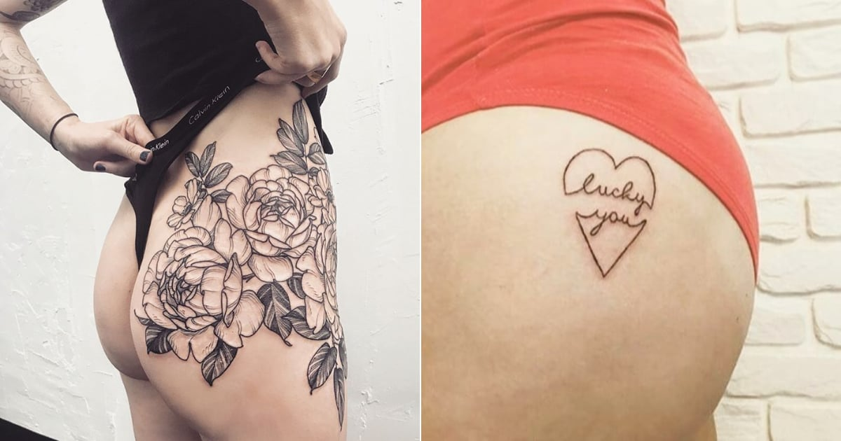 34 Sexy Butt Tattoos That Will Have You Feeling Positively Peachy