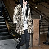 Ashlee Simpson Spotted Traveling Solo Through LAX