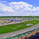 Watch cars race at the Kansas Speedway.