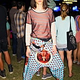 Tati Cotliar at Coachella in Indio, CA. Source: David X Prutting/BFAnyc.com