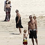 Gwen Stefani and Gavin Rossdale took an April 2012 family trip to Cabo.