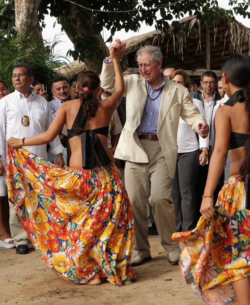 Charles in Brazil in March 2009