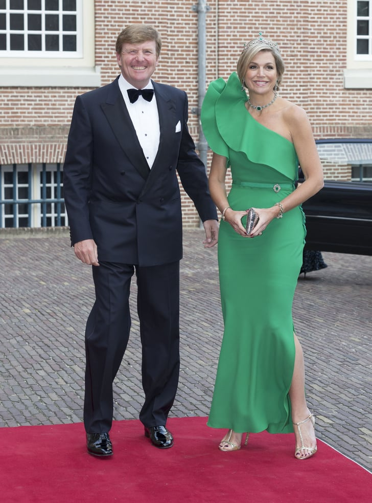 queen maxima of the netherlands wearing lanvin kate