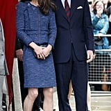 In April, Prince William and Kate Middleton attended a reception for the Scott-Amundsen Centenary Race at Goldsmiths' Hall in London.