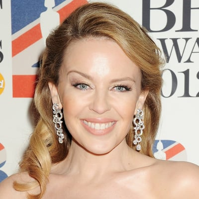 Kylie Minogue at the 2012 BRIT Awards