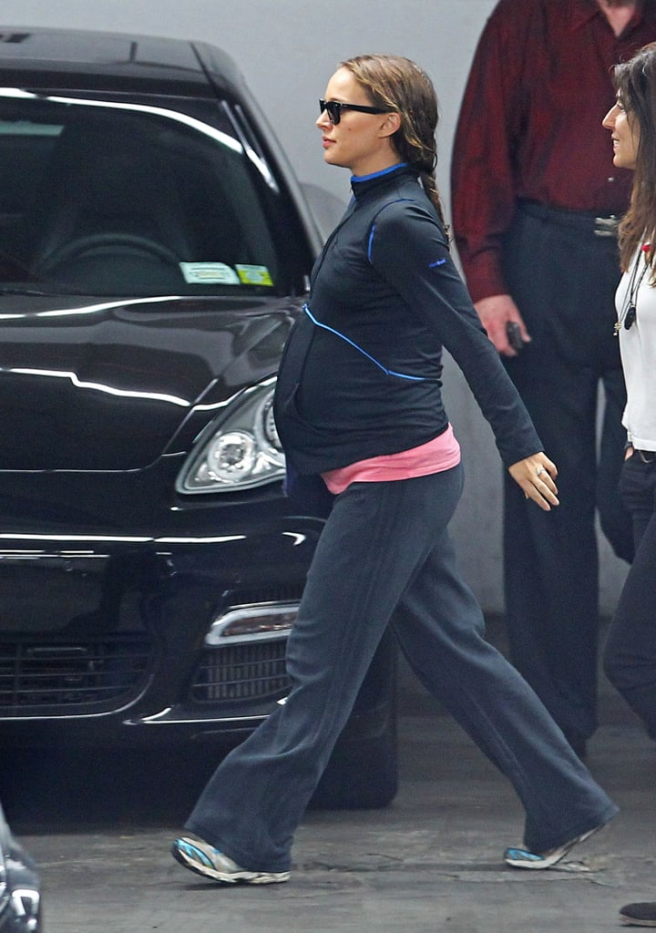 Pregnant Natalie Portman Shows Off Her Growing Curves!