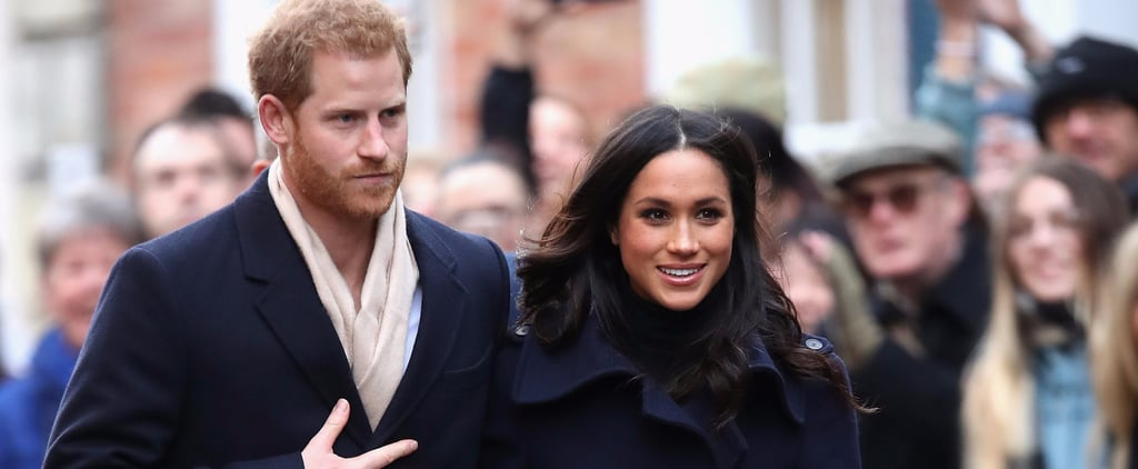 """1 Hysterical Reporter Was Absolutely Shameless While Trying to Talk to Prince Harry and """"Megs"""""""