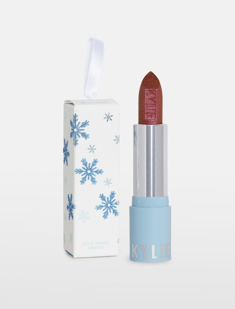 Kylie Cosmetics Stay Cozy Metallic Lipstick