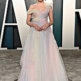 Lucy Boynton at the Vanity Fair Oscars Afterparty 2020
