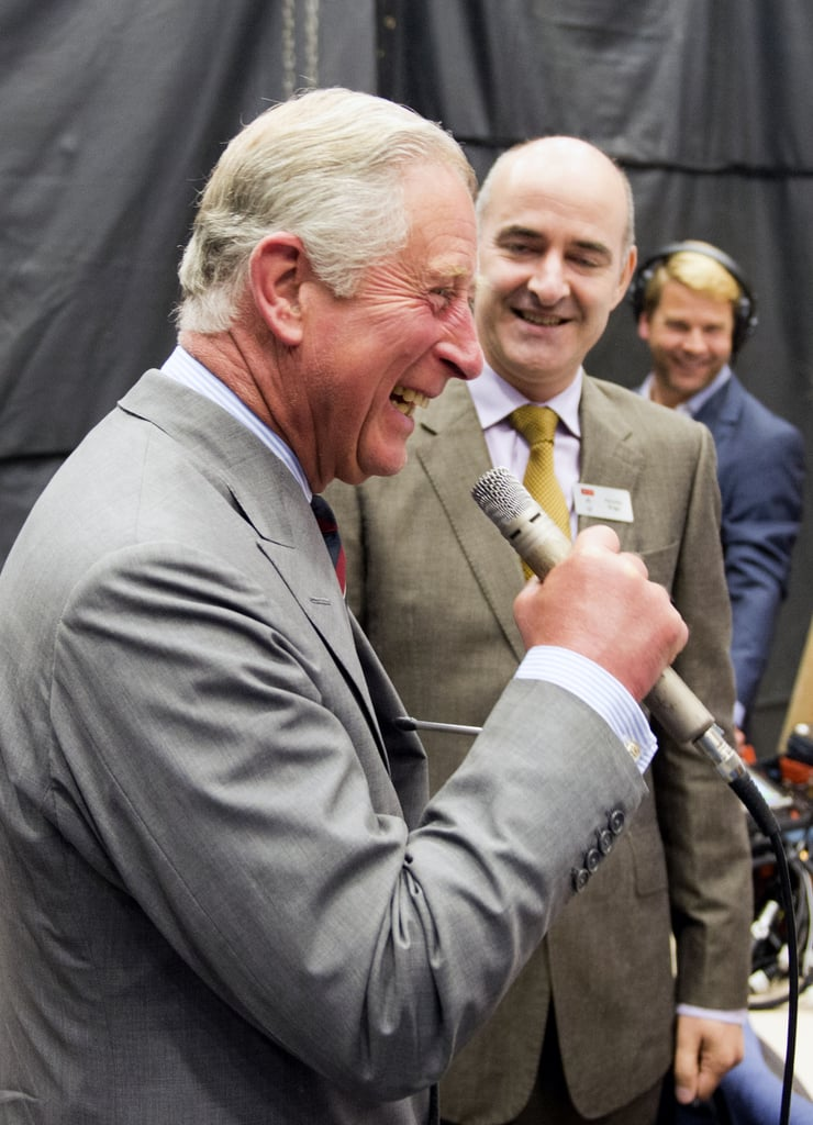 "Nicholas Briggs, the voice of the Daleks, tutored Prince Charles on the proper way to say ""Exterminate!"""