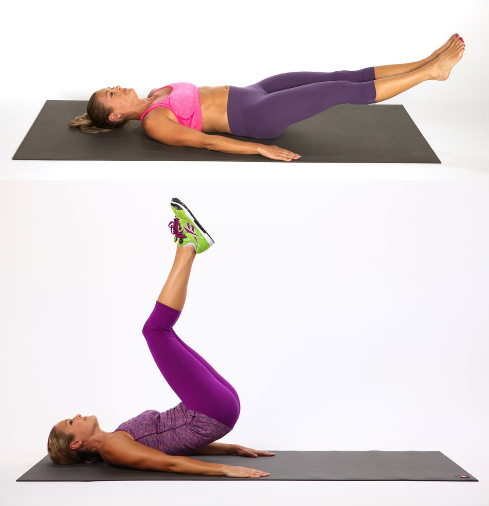 Hip Raise With Leg Extension
