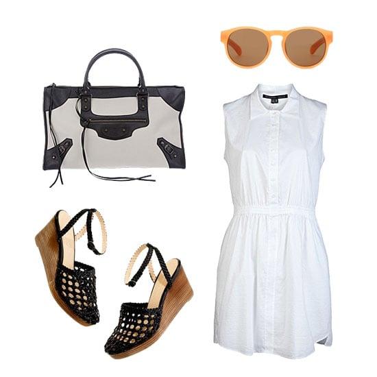White Dress Styling For Summer