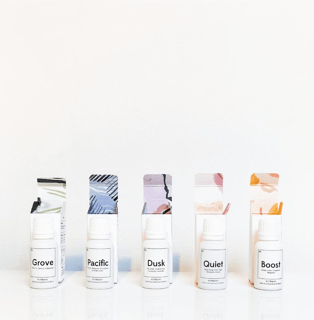 Vitruvi's Pre-Blended Aromatherapy Oils