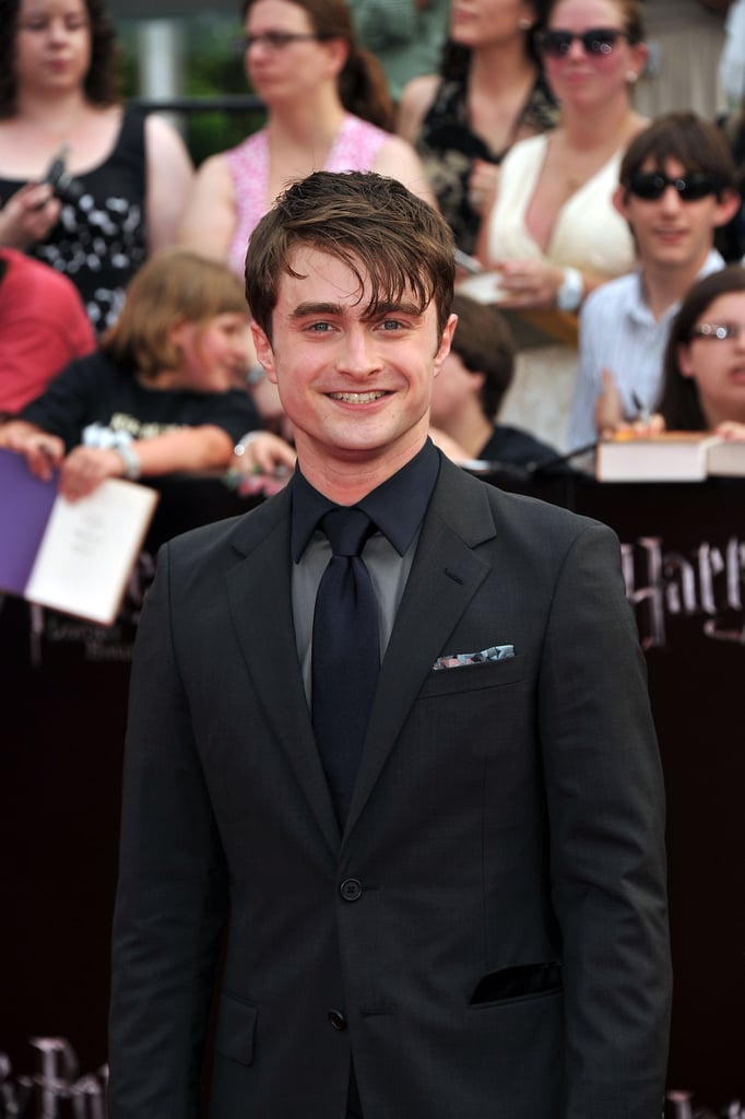 Daniel Radcliffe at the Harry Potter and the Deathly Hallows Part 2 premiere in NYC.