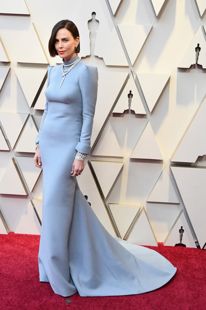 Charlize Theron at the 2019 Oscars