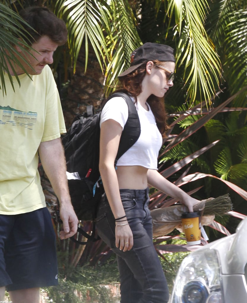 Kristen Stewart stepped out in LA for the first time.