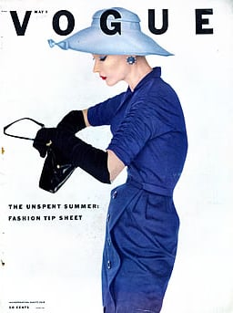 Lisa Fonssagrives-Penn, Vogue, May 1952