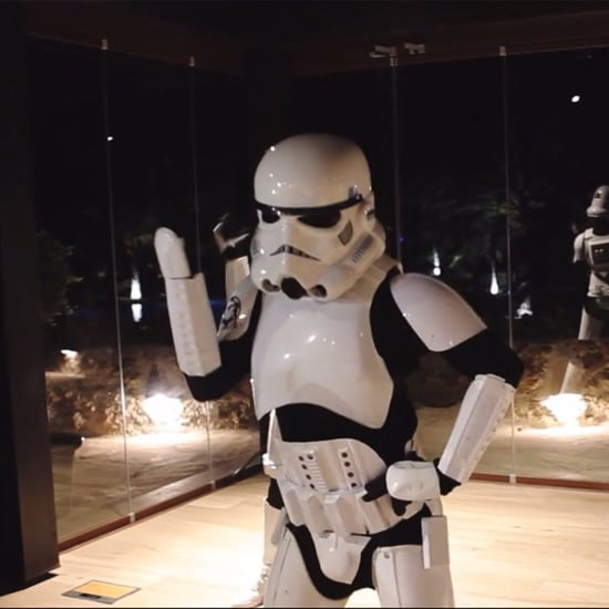 Star Wars-Themed First Wedding Dance