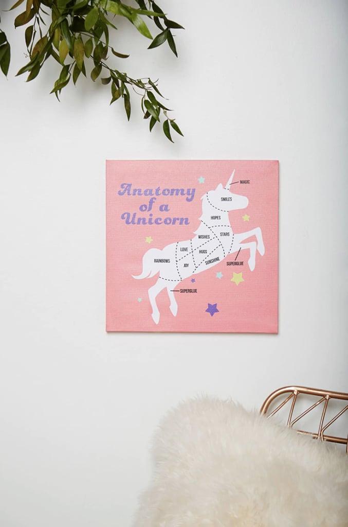 Forever 21 Unicorn Wall Art