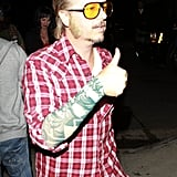 David Spade went to the Casamigos Halloween Party as Terry Richardson.