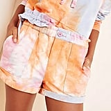 BlankNYC Sweetie Tie-Dye Shorts