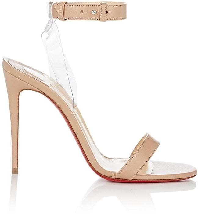 Christian Louboutin Jonatina Leather & PVC Sandals