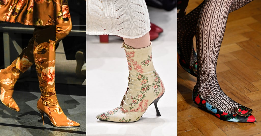 Fall 2019 Shoe Trend: Winter Florals
