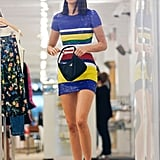 Kendall Jenner's Striped Ralph Lauren Dress