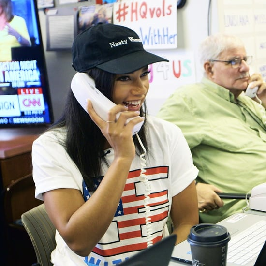 Hannah Bronfman at Hillary Clinton Headquarters | Video