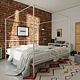 Marion Canopy Platform Bed in Queen Size
