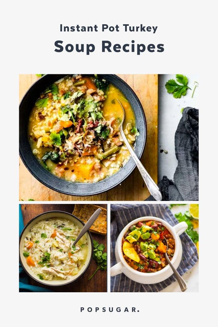 Instant Pot Turkey Soup Recipes