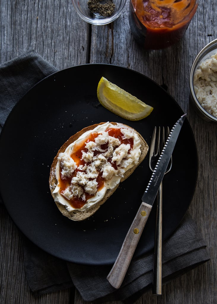 Crab Toast With Cream Cheese