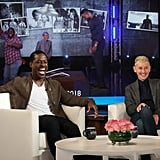 Sterling K. Brown Gets Scared on The Ellen Show Video 2019