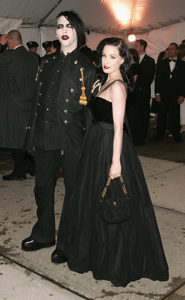 Dita Von Teese Wedding Dress 93 Marvelous Marilyn Manson and Dita