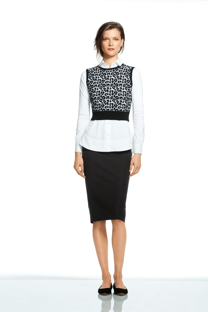 Roland Mouret For Banana Republic High-Waisted Pencil Skirt
