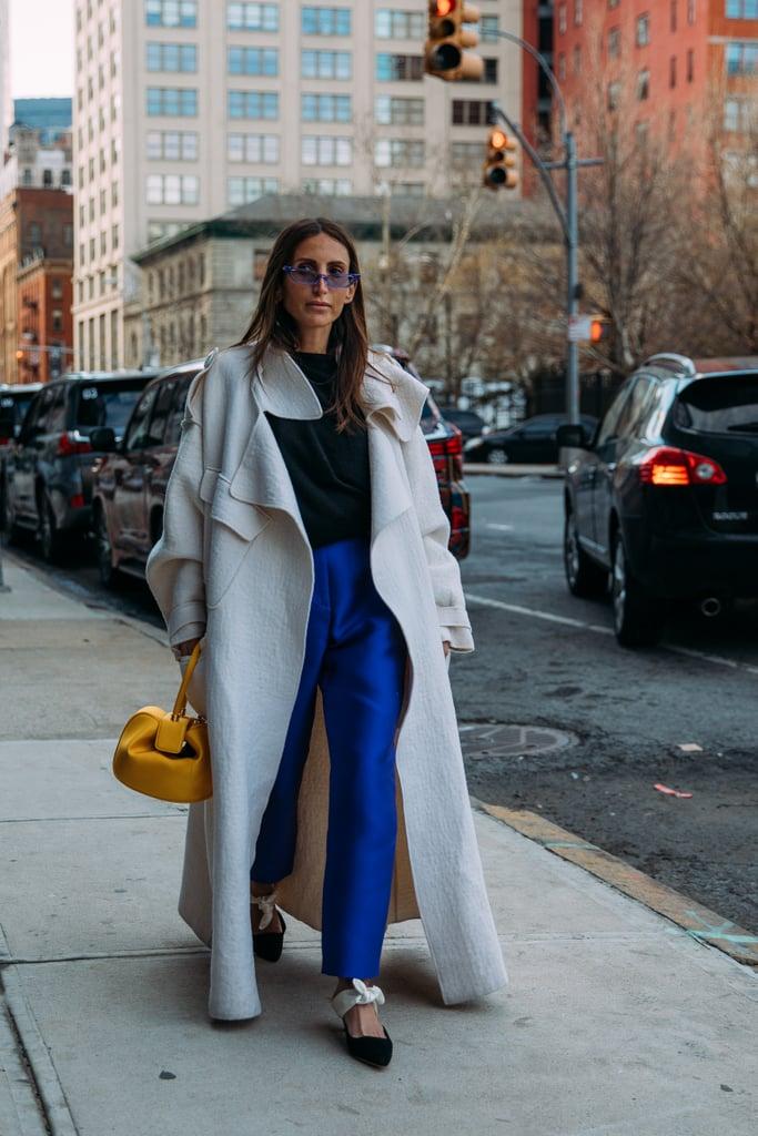 Day 1 Street Style At New York Fashion Week Fall 2018 Popsugar Fashion Uk Photo 360