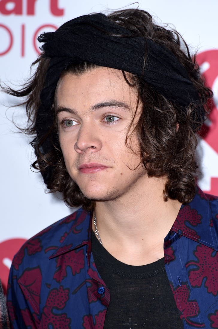 harry styles with hair 2014 harry styles s hair pictures popsugar photo 12 1681